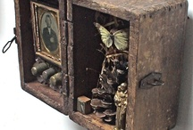 Boxes Art  -Assemblage