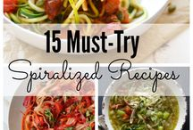 Spiralized Recipes