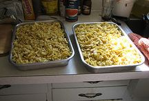 Pot luck and casserole recipes