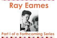Ray Eames / The life and work of Ray Eames (1912-1988) #rayeames #eames #eamesoffice #charlesandrayeames