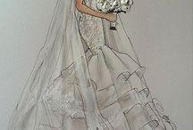 эскиз свадьба