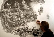 Traditional artist