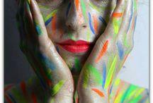 My work / #beauty #makeup #makeupaddict #bodypainting #makeupartist #beautyaddict #makeupjunkie