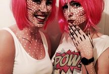 Pop art carnaval / Art is where the carnaval is #carnaval #friends #pink #pow