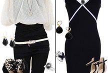 Kombin / Siyah&Beyaz