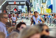 Ironman Wales / Tenby Pembrokeshire, home of Ironman Wales. A superb long distance triathlon event in the Pembrokeshire Coast National Park.  Photos and information on the event held in Pembrokeshire every September https://www.fbmholidays.co.uk/properties/ironman-wales-2017-accommodation