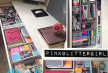 Desk Organization  / by Monica Alvarez