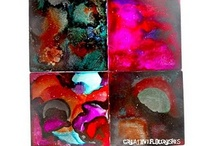 Alcohol Ink Ideas / Alcohol Ink