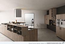 Design of kitchen cabinet