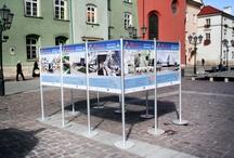 Wystawa na Małym Rynku w Krakowie - Małopolskie Targi Innowacji