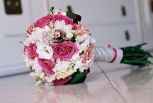 Bouquet e arranjos de casamento