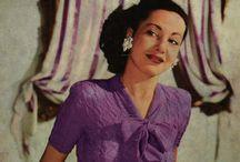 Handcrafts: Vintage Knitting