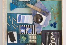 BLUE & PURPLE / by C Michele