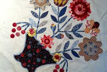 Applique flower and other shapes