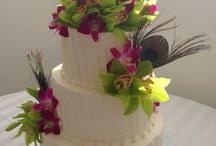Love In Bloom Cake Flowers / Love In Bloom Provided the Floral for these Beautiful Cakes