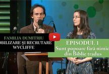 Misionari / Care sunt misionarii Wycliffe România?