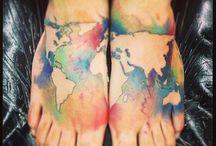 Tattoo/Tatuointi / Hienoja, inspiroivia
