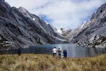 Lake in the mountains of Papua
