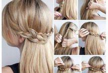 Hair! / Hair tips, tricks, and do ideas