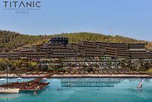Titanic Hotels / Modernizmi lüks ve konforla buluşturan Titanic Hotels'in ayrıcalıklarla dolu dünyasında tatile kim hayır diyebilir ki? %35'e varan erken rezervasyon fırsatları MNGTurizm.com'da.
