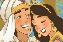 Jasmine+Aladdin