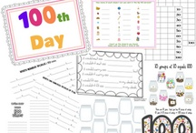 100th Day of School / Ideas, lessons and freebies for celebrating how far we've come in 100 days of school! / by Teaching Blog Addict