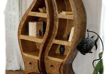 Cardboard møbler