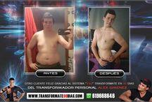 MY TRANSFORMATIONS IN 90 DAYS. / 90 days for Transformation / 90 dias para la transformacion