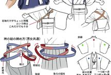 Japanese Technical Fashion Drawing