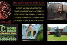 Save Big This July ! / MG Home Services Offing Big Savings When You Sign Up This July !