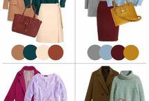 Цветовая карта одежда