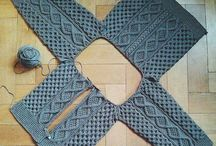 pulovere tricotate