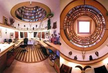 A Room of One's Own / Every writer wants a writing space they can call their own. Pictures of writing spaces to spark ideas.  Dare to dream!