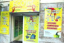 ECOjet Shop / I negozi in Italia