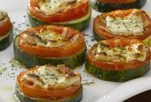 pizzetas verduras