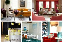 Unusual Paint Palettes that Totally Work / http://sothebysrealty.ca/blog/2013/12/30/unusual-paint-palettes-that-totally-work/