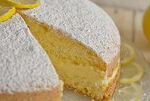 torta alla crema di limoni