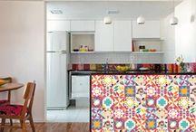 Adesivos decorativos / Dando mais vida ao seu ambiente.