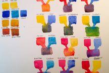 Paints: Palletes & etc.