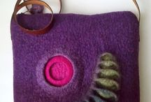 Crafts: Fabulous Felting / Recently, while visiting a very talented friend, I was introduced to the artistry of felting. These items will amaze you.