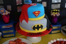 Aidan's 5th super hero birthday