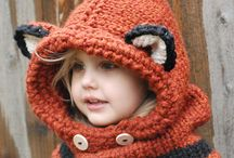 scarf and cap for children