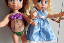 My Disney animators dolls / Here are my own dolls and doll clothes.