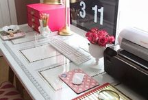 Home office ideas / by Amelia Martin