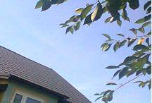 DUET-BUD-Realizacja:Dachy / Tablica przedstawia nasze realizacje z zakresu wymiany połaci dachowych, dociepleń dachów, wykonania okuć dachowych i kominowych oraz montażu cag wentylacyjnych i strażaków spalinowych.