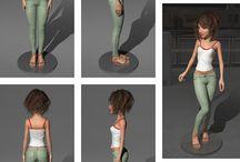 My Art (3D Models) / My Artworks (3D Models, 3D Graphics)
