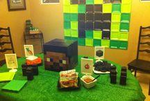 THEME Minecraft Birthday Party