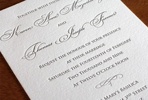 {invitation design} anne / by Invitations by Ajalon