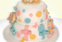 Baby Shower Cakes / Handmade Baby Shower and Baby Reveal cakes. Available in a selection of different sponges, fillings and coverings.