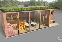 3D sauna plan, sauna design for your custom-built sauna or sauna house